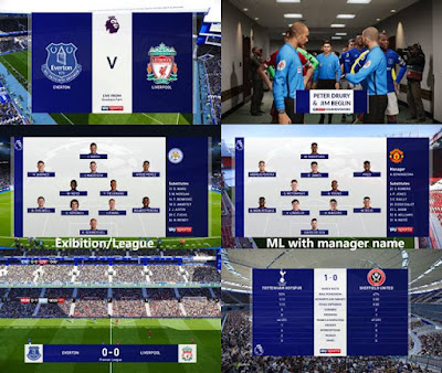 PES 2020 Sky Sports EPL Scoreboard By spursfan18