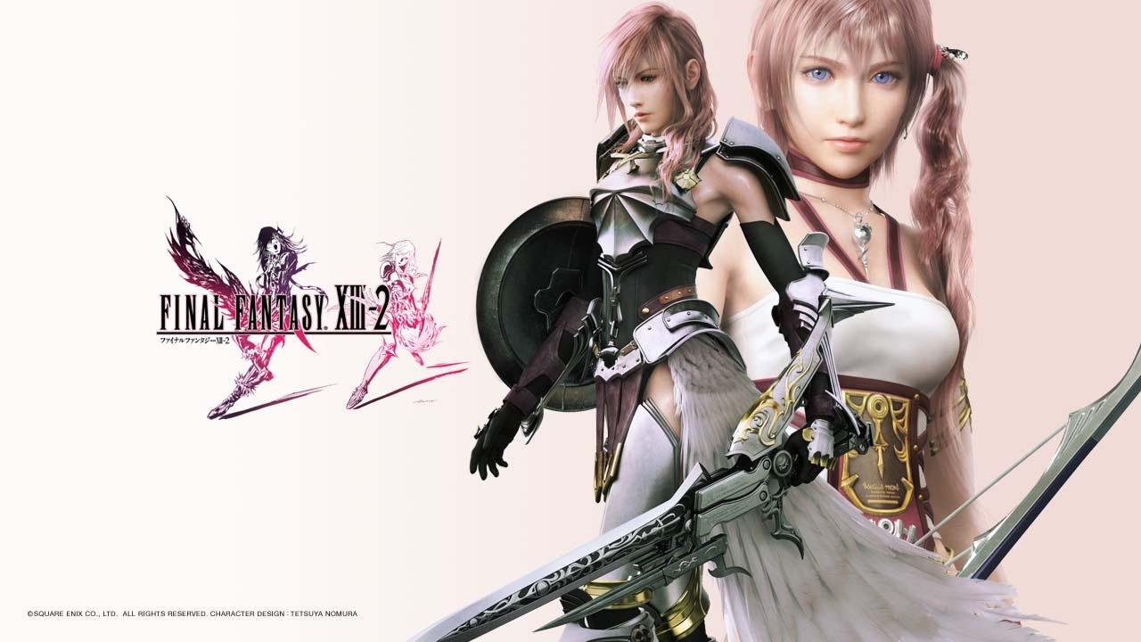 Final Fantasy 13 2 Wallpaper: Just Walls: Final Fantasy XIII-2 Game Wallpaper