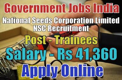 NSC Recruitment 2018