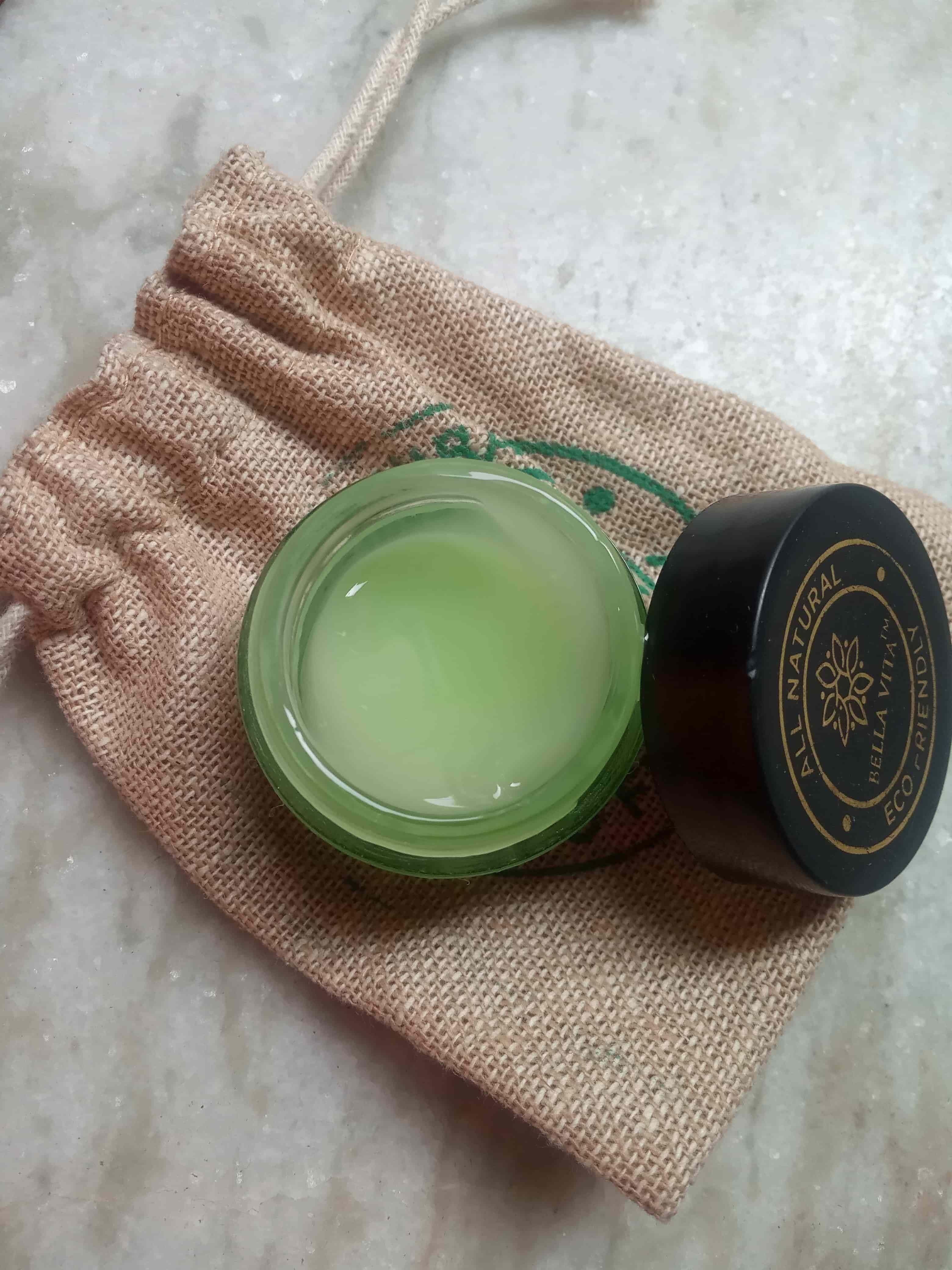 Bella Vita Organic EyeLift under eye gel cream review