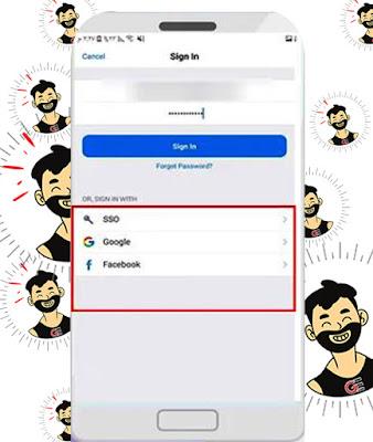 كيفية تسجيل حساب زووم بالفيسبوك أو حساب جوجل
