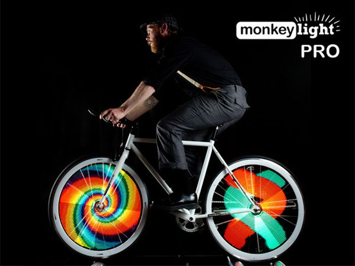 Monkey Light Damn Cool Pictures