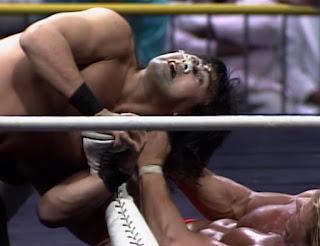 WCW Starrcade 1989 - The Great Muta vs. Lex Luger