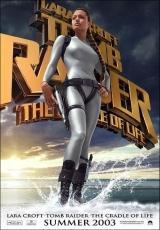 """Carátula del DVD: """"Lara Croft 2: La cuna de la vida"""""""