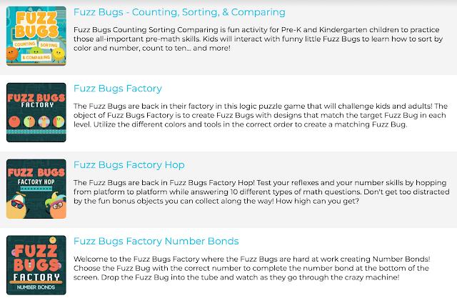 Fuzz Bugs ABCya