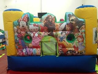 minis castillos inflables para niñas