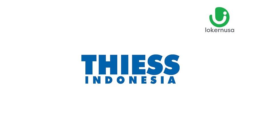 Lowongan Kerja Thiess Indonesia