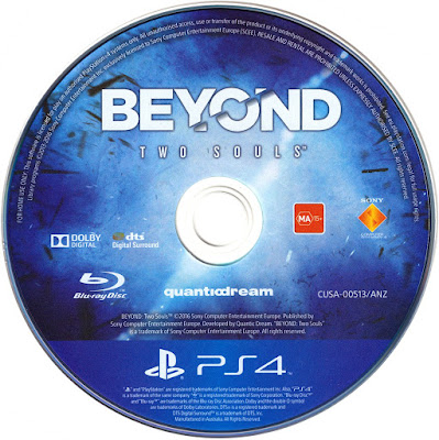 Label Beyond Two Souls PS4