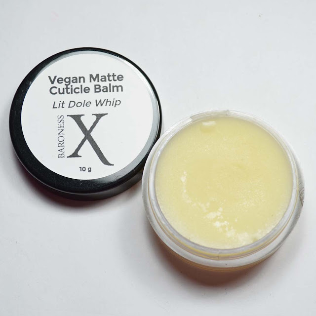 vegan matte cuticle balm in a jar