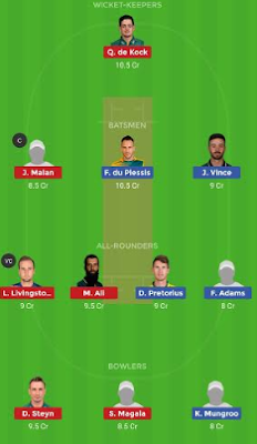 CTB vs PR dream 11 team | PR vs CTB