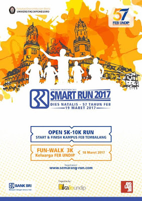 Poster BRI Smart Run 2017