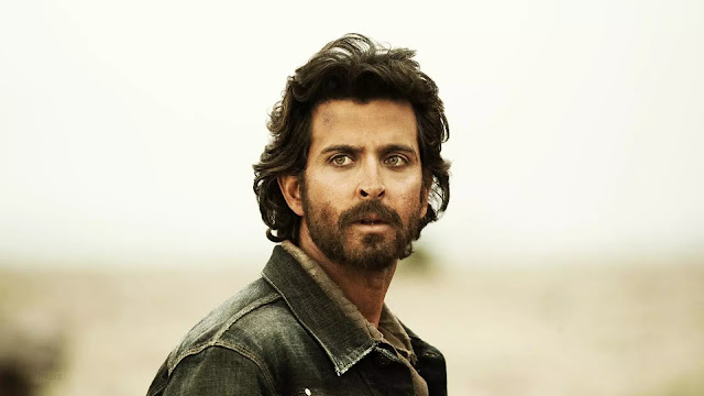 Hrithik Roshan Long Hairstyle With Beard
