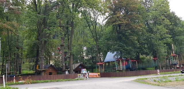 Najlepszy park linowy Krościenko