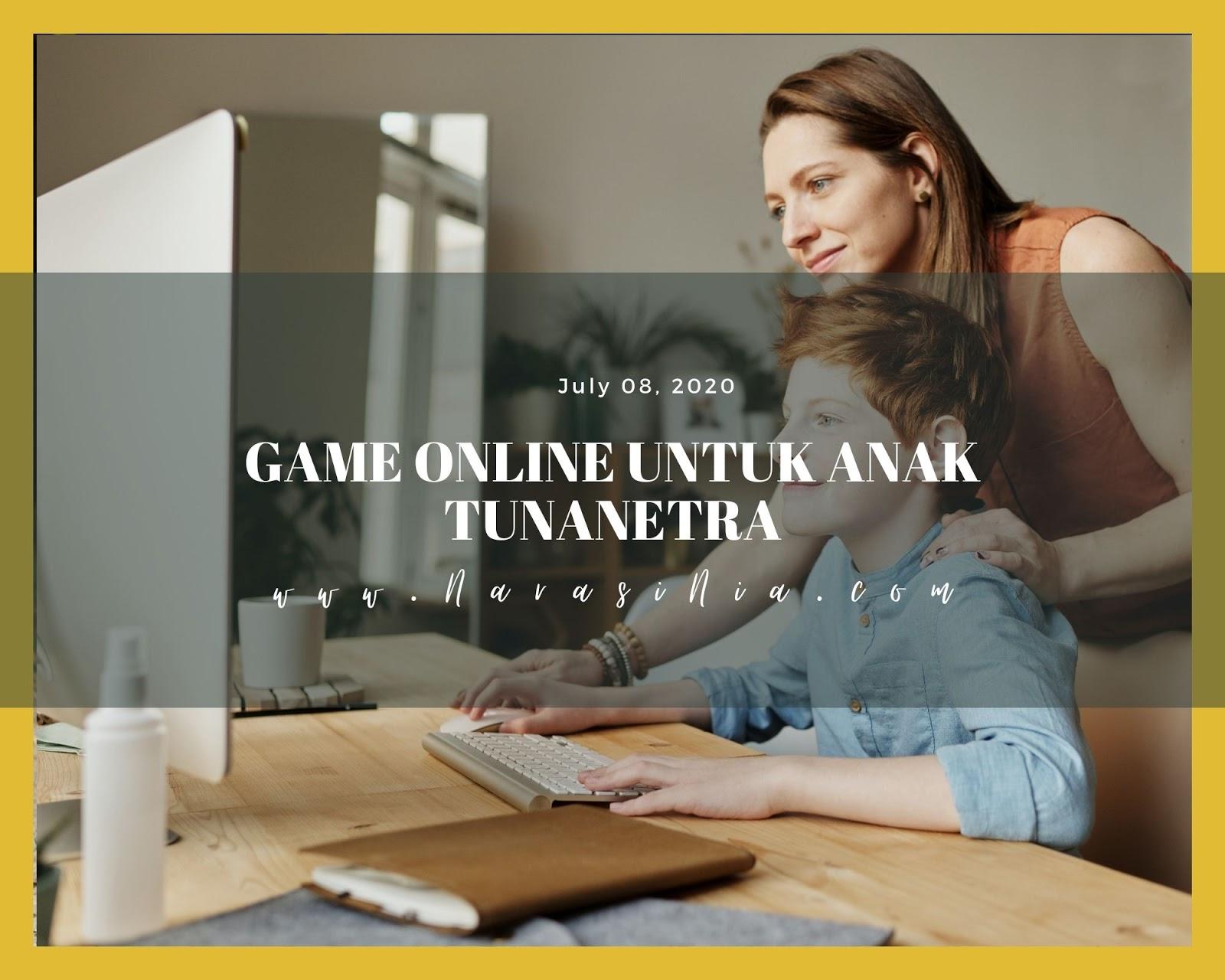 Game Online Untuk Anak Tunanetra