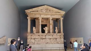 La antigua Grecia en el British Museum.