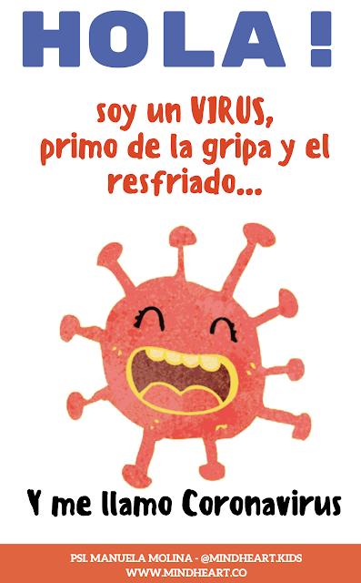 Ayuda Para Maestros Libro Para Ninos Hola Soy El Coronavirus
