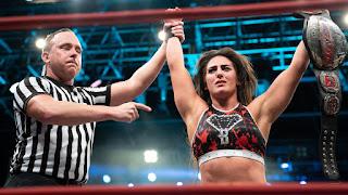 IMPACT WRESTLING - Tessa Blanchard hace historia convirtiéndose en la primera mujer campeona mundial al ganar el Impact World Championship