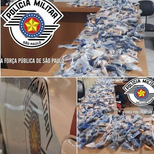 POLÍCIA MILITAR PRENDEU DOIS HOMENS POR TRÁFICO DE DROGAS