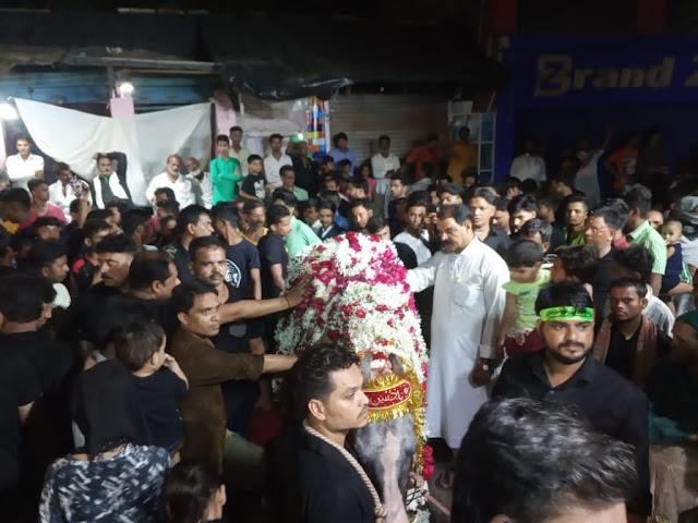 छठी मुहर्रम पर 42 घंटे चलने वाला दुलदुल का जुलूस उठा, जगह जगह मातम - newsonfloor.com