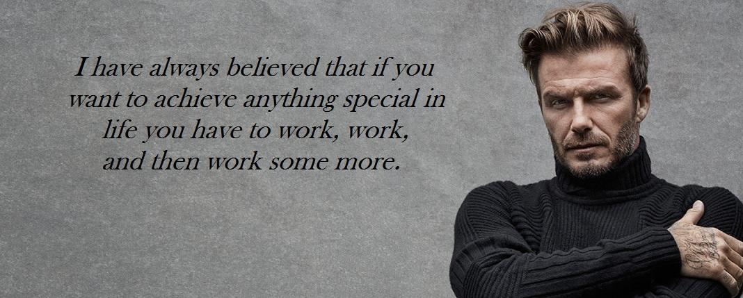 Quotes Time: David Beckham Quotes