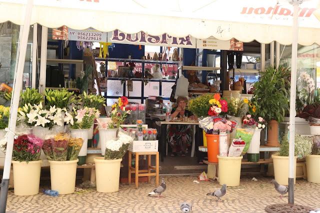 Puesto de flores