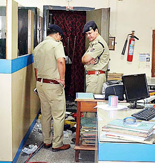 Central Bank in Bagdogra robbed