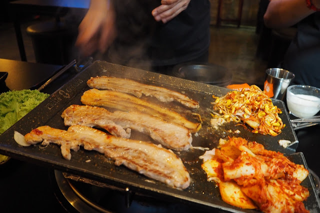 8 Korean BBQ Clarke Quay Side Dishes
