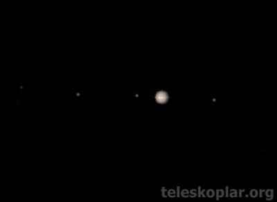 Celestron 21024 jüpiter gözlemi