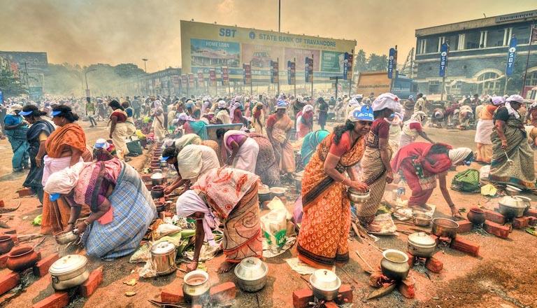The capital city of devotion; Conclusion of Attukal Pongala Mahotsavam,www.thekeralatimes.com