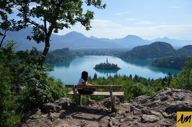 Vista desde el punto panoramico Osojnica