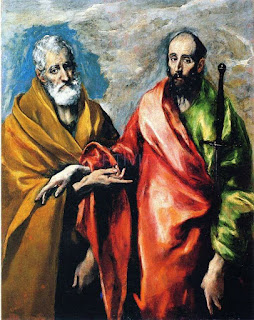 El Greco, Apostles Peter and Paul, 1592