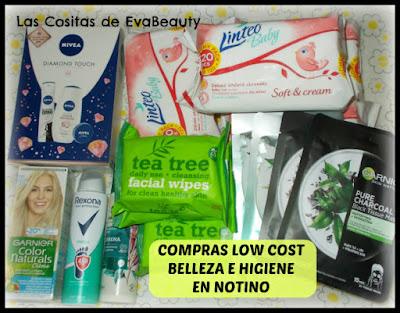 compras haul low cost belleza e higiene en Notino