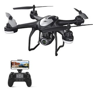 Potensic Drone GPS T18 con Telecamera 1080P Dual GPS