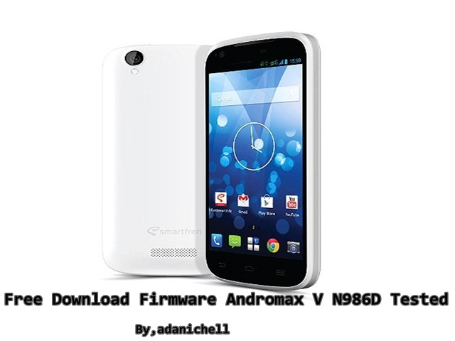 Free Download Firmware Andromax V N986D Tested