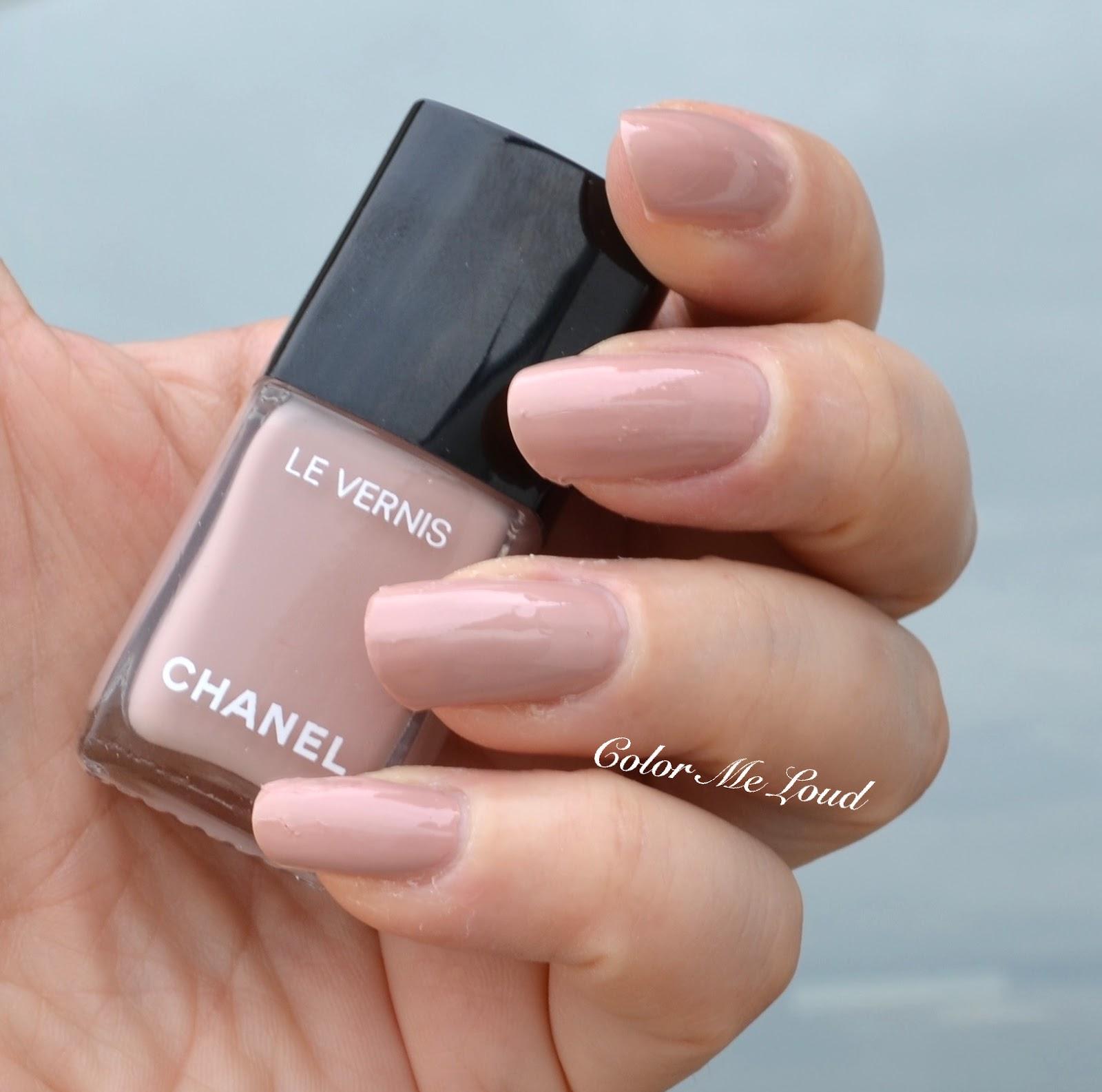 Chanel Le Vernis Longwear Nail Colour, Nudes & Vamps, Review, Swatch ...
