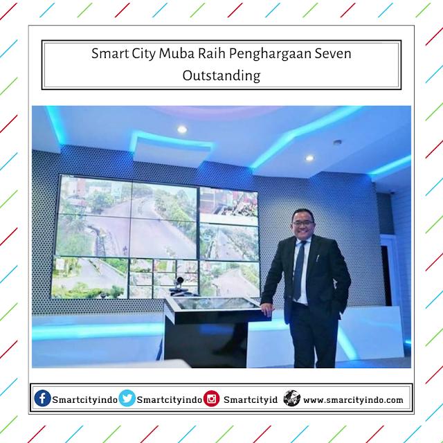 Smart City Muba Raih Penghargaan Seven Outstanding
