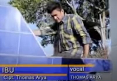 Lirik Lagu Pof Malaysia Thomas Arya – Ibu