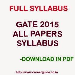 Syllabus pdf iit 2014