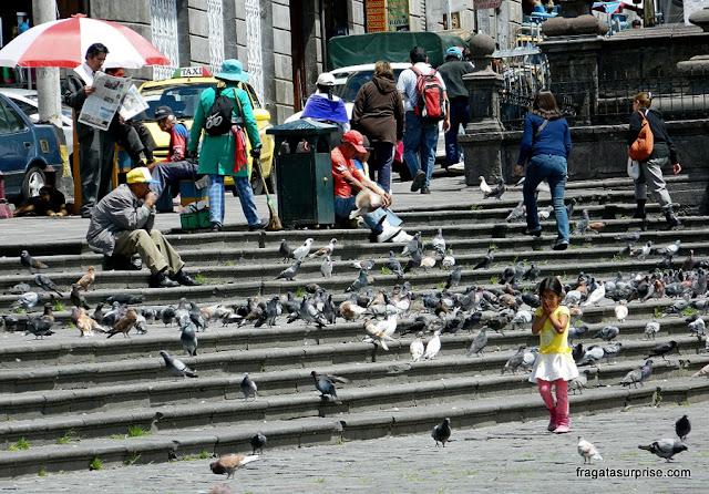 Praça de São Francisco, Quito, Equador