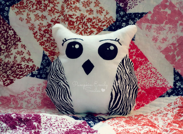 DIY: Cute No-Sew Owl Pillow