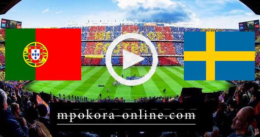 نتيجة مباراة السويد والبرتغال بث مباشر كورة اون لاين 08-09-2020 دوري الأمم الأوروبية