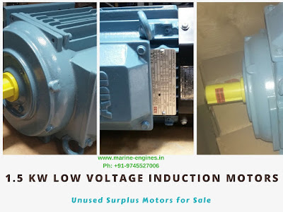 Induction Motor, Low Voltage, 1.5 Kw, for sale, 50 hz, 60 Hz, speed, poles