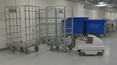 MiR mobil robot ile taşıma işlemleri çok kolay ve kesintisiz
