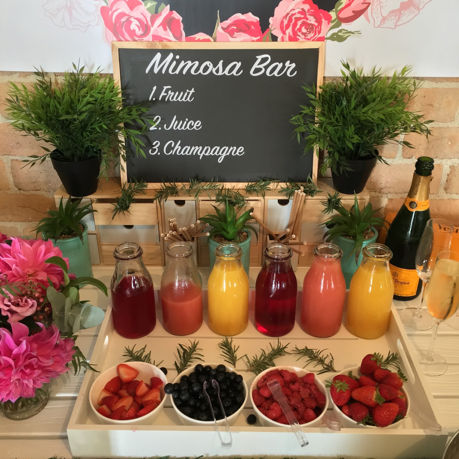 The Events Blogger DIY Mimosa Bar