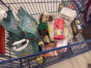 buying cat litter and other groceries in Cyprus
