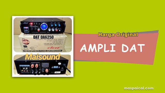 10 Rekomendasi Harga AMPLI DAT Termurah dan Terlaris Harga Original - maspaical.com
