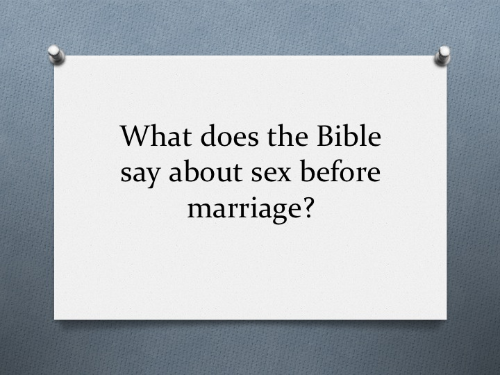 Premarital Sex Bible Verses 21