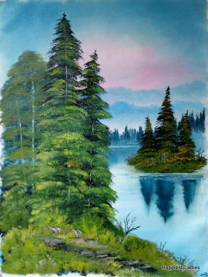 bob ross paintings for beginners
