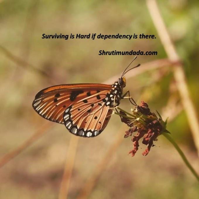 Dependence on another is perpetual disappointment - दूसरे पर निर्भरता हमेशा की निराशा है