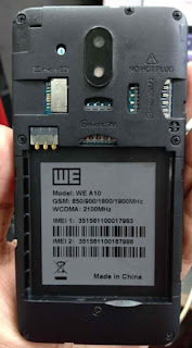 We A10 flash file Dead Recovery ,Hang Logo, Frp dan We A10 Care Signed Firmware flash file